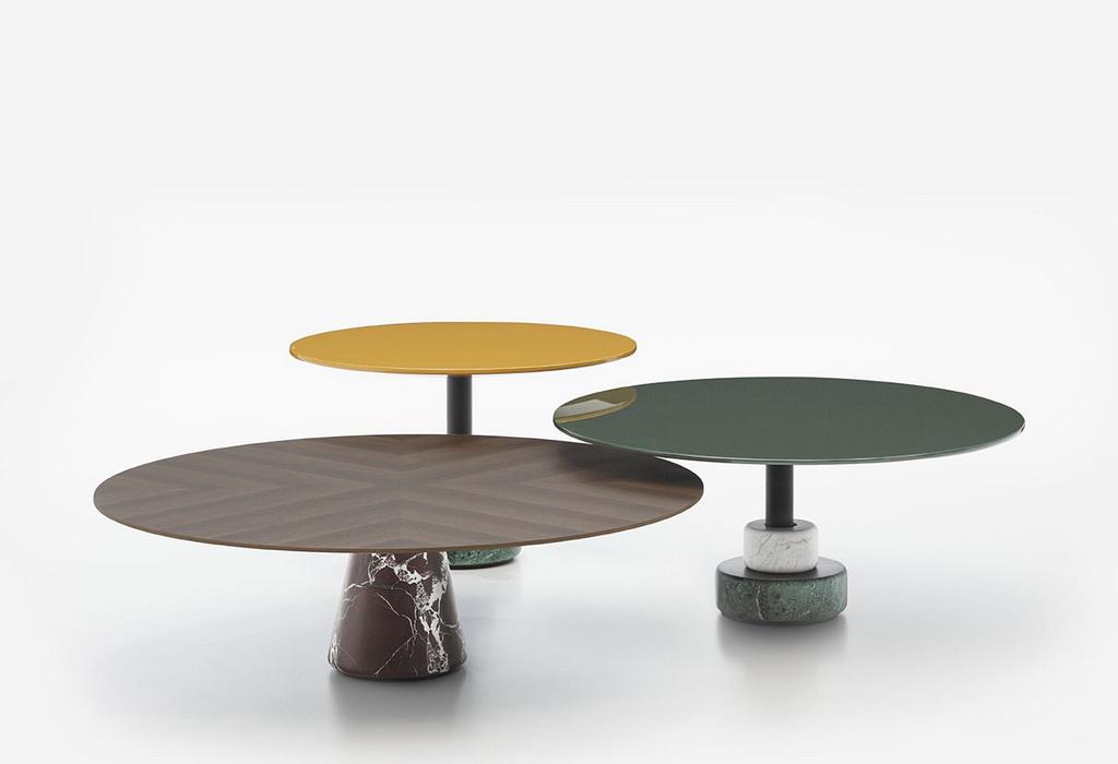 столик журнальный бетон