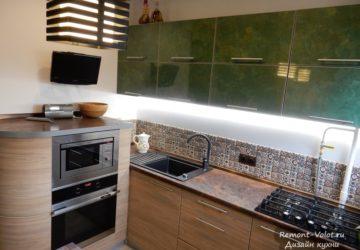 Кухня с тумбой