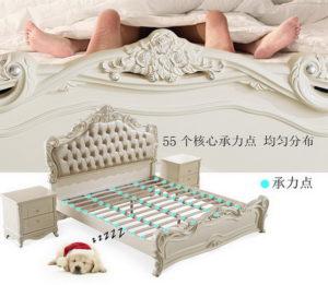 Каркас кровати на ламелях