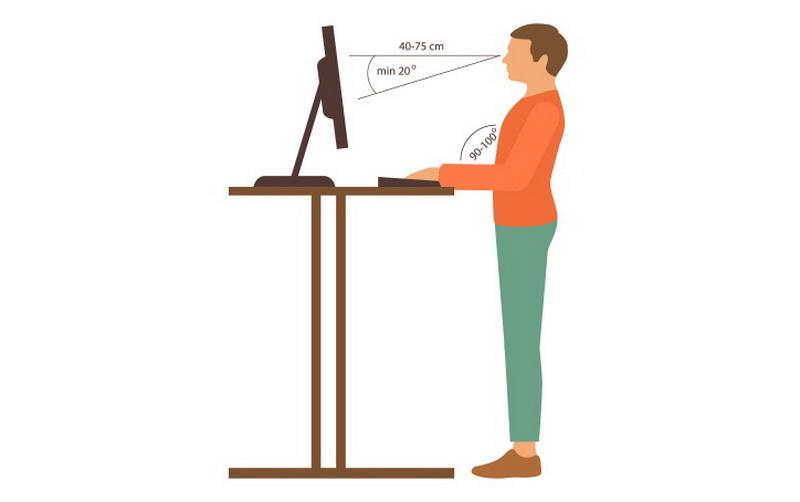 эргономика офисного стола