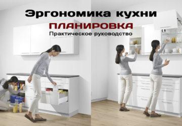Эргономика кухни - планировка