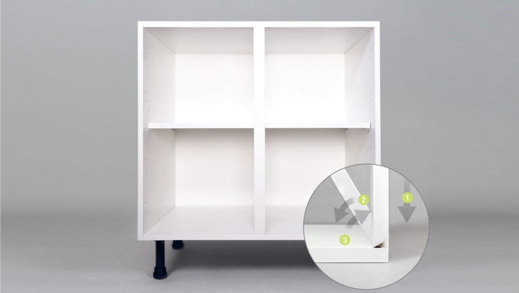 Соединение мебельных деталей