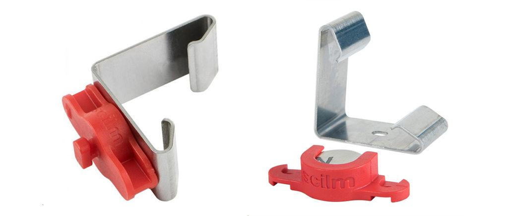 клипса Sclim - магнитный цоколь для кухни
