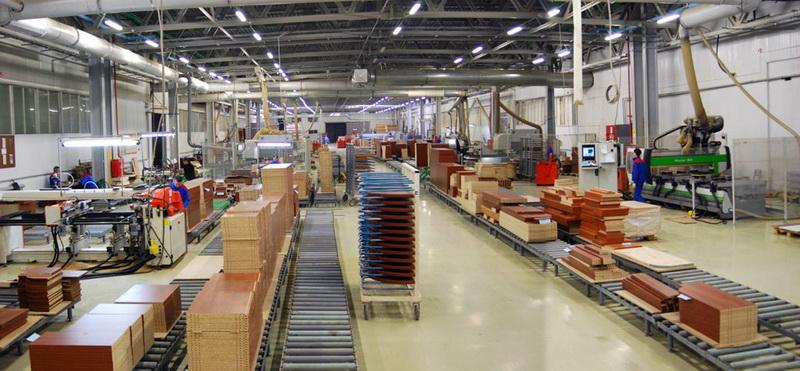 Серийное производство мебели.