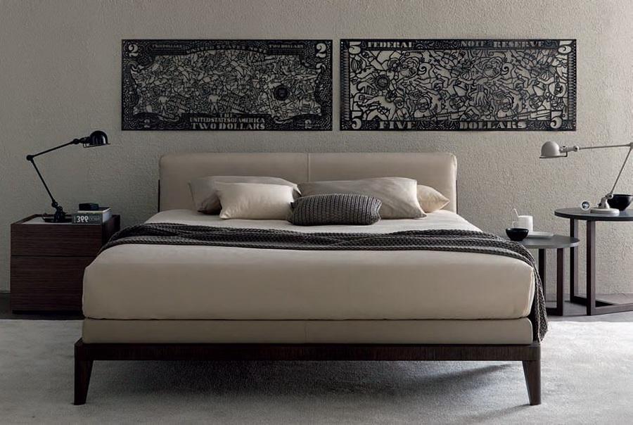 Изголовье кровати с охватом