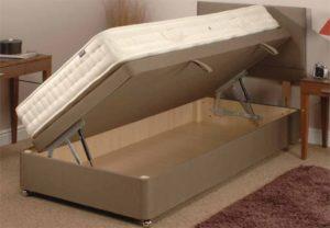 Боковой подъемный механизм кровати