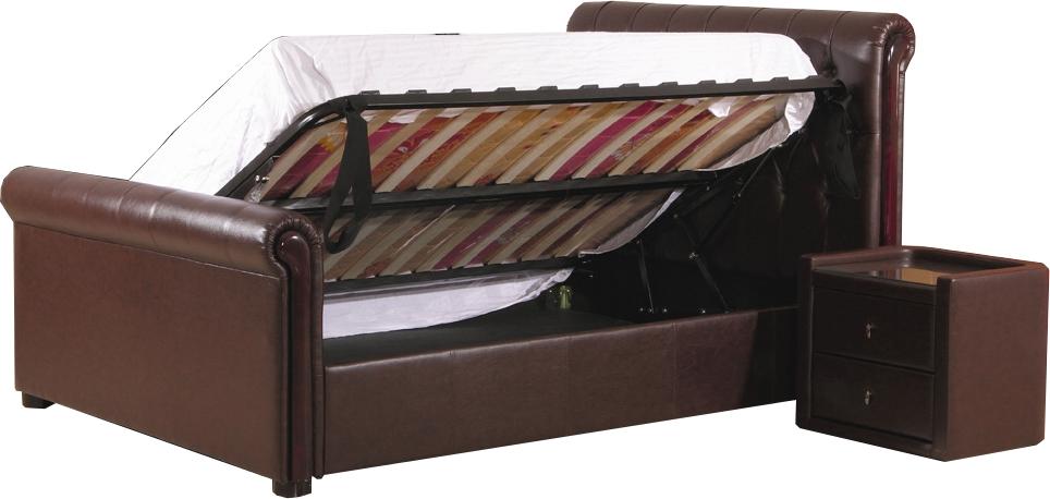 Подъемный механизм кровати боковой