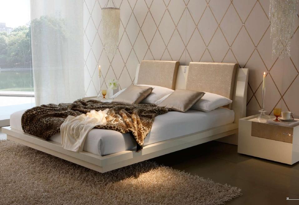Кожа крокодила кровать