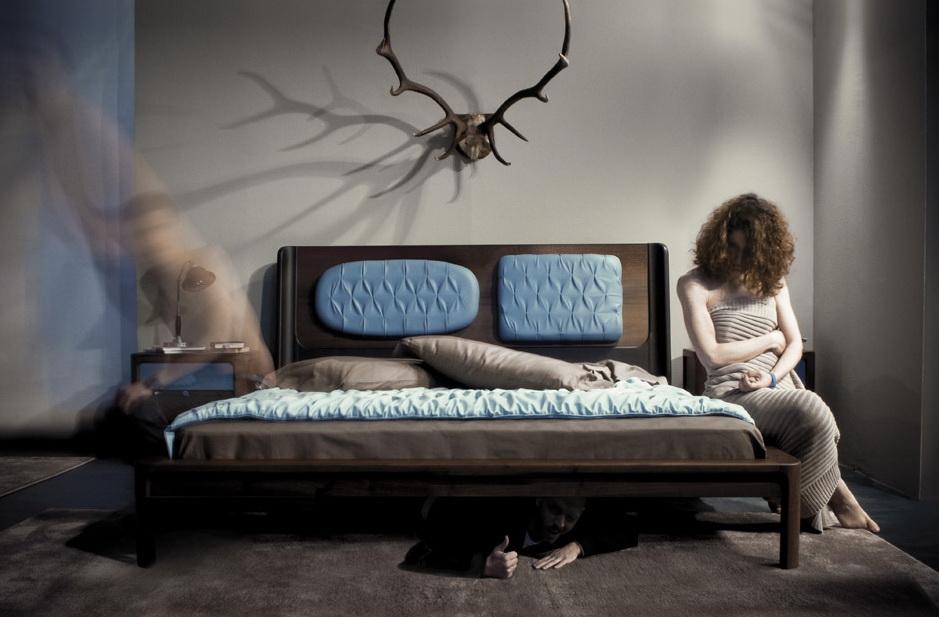Кровать в модерне