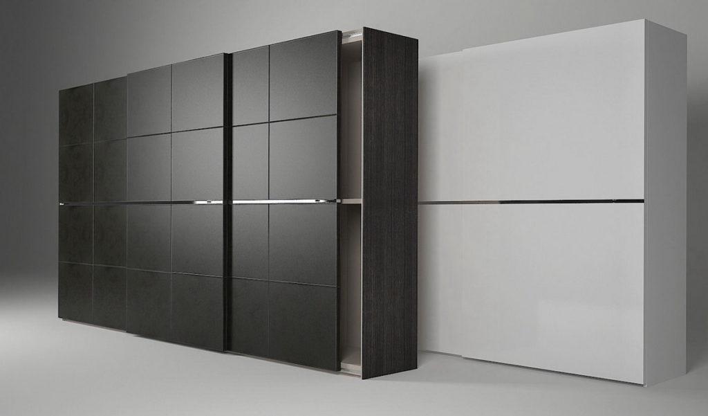 Кожаный шкаф