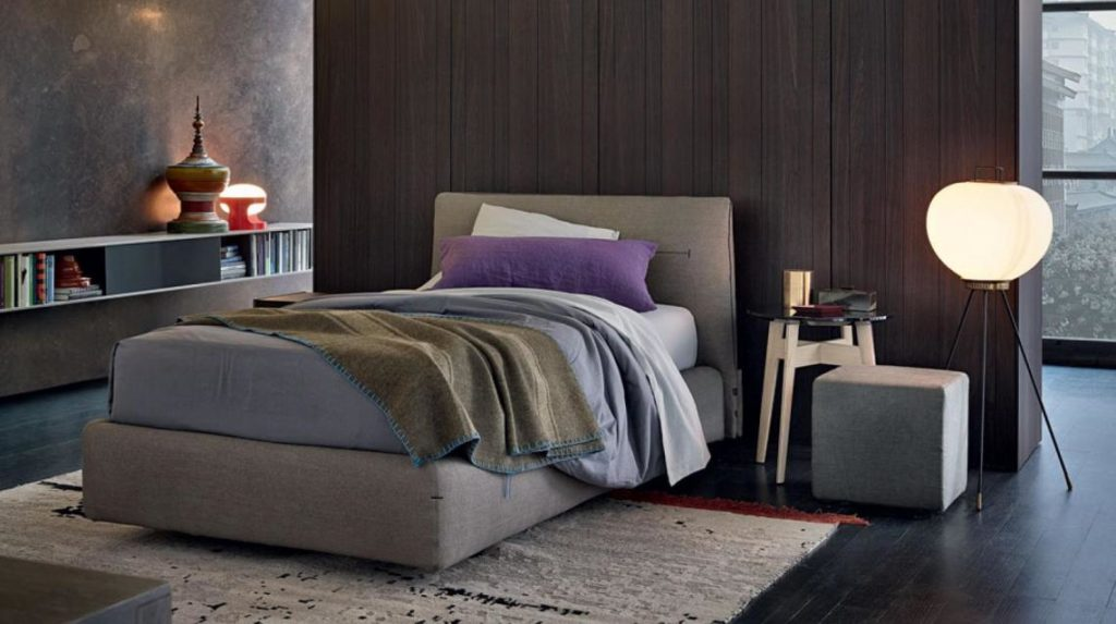 Прошитая мягкая кровать