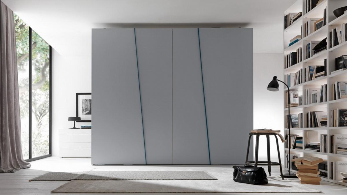 Диагональный дизайн шкафа