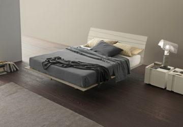 Парящая кровать с подсветкой