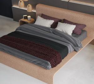 спальня из пробки