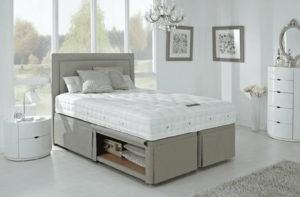 мягкая кровать с ящиком