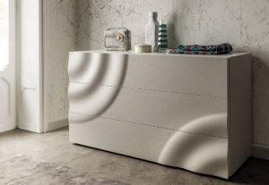 3D дизайн кровати, комод