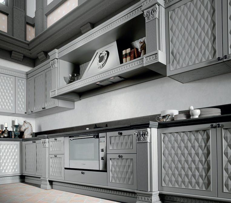 3D классическая кухня от Del Tongo