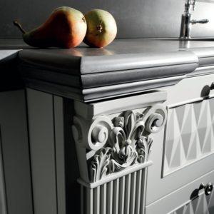 декор классической кухни от Del Tongo - фриз