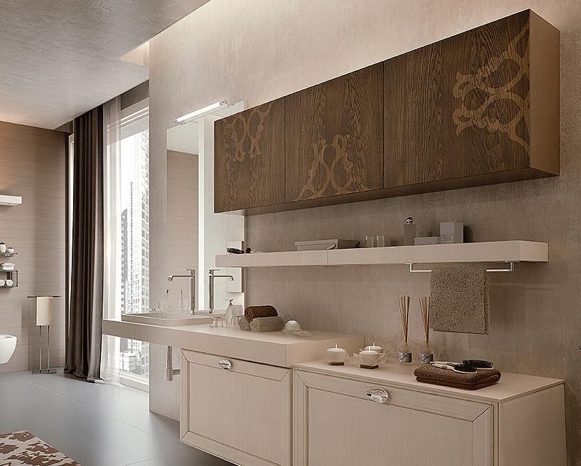 Ассимитричная отделка - трафареты фасад кухни