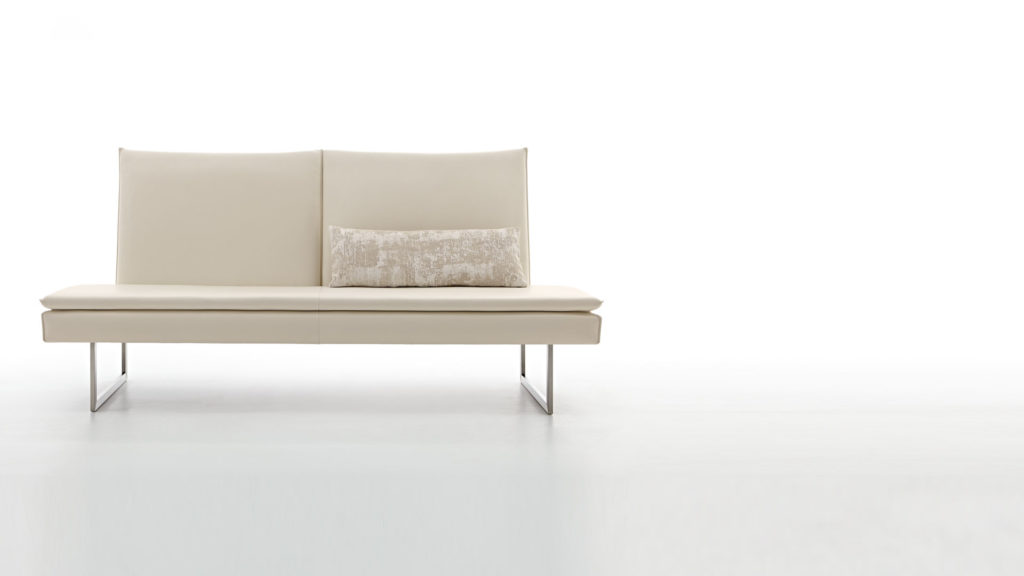 Белый диван на кухню