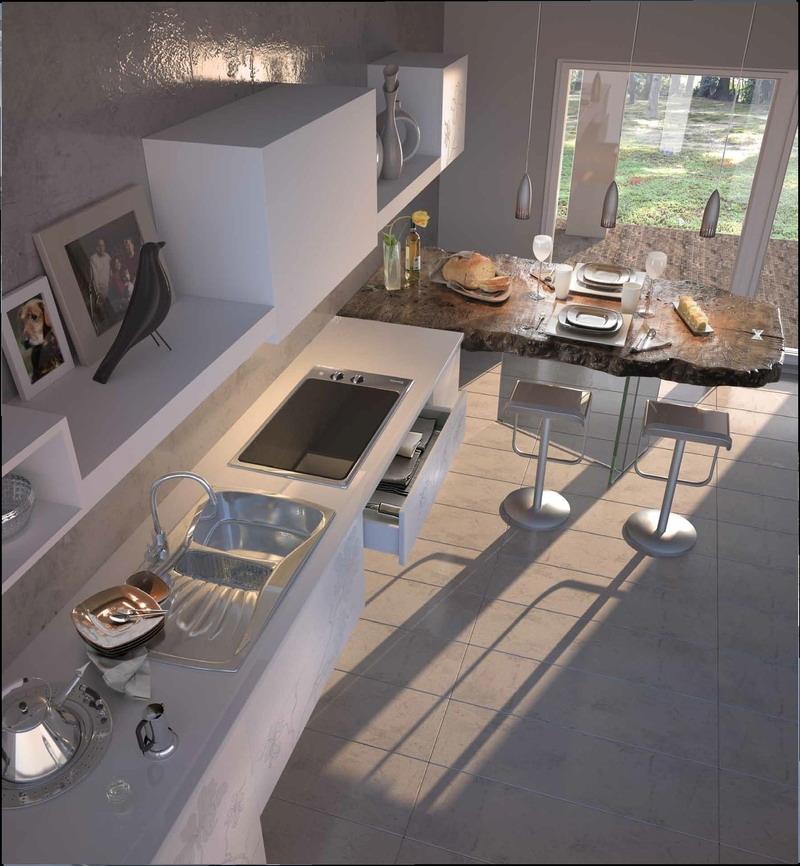 3д фасады для кухни