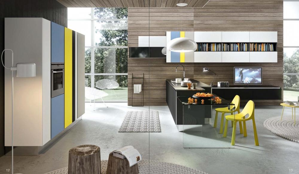 Цветовая гамма и дизайн кухни