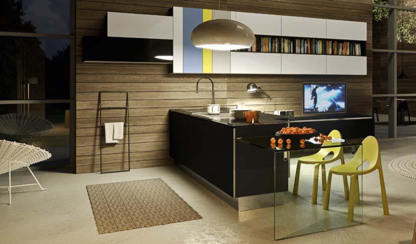 Цветовая гамма и цветовой дизайн кухни