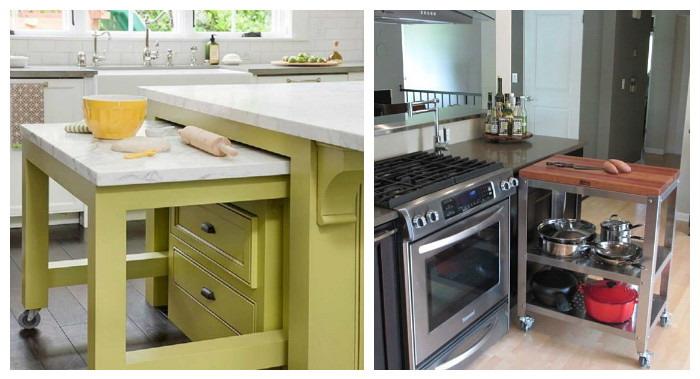Примеры столов на кухню