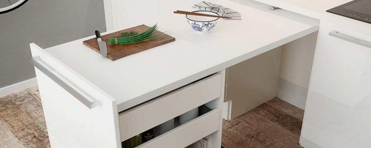 Стол для маленькой кухни, фото, выезжающий