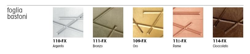 фасады металлическая фольга - палочки