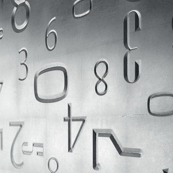 фасады металлическая фольга цифры фото