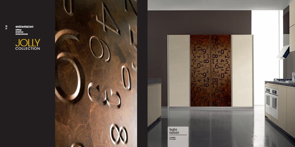 бронзовые цифры фасады металлическая фольга
