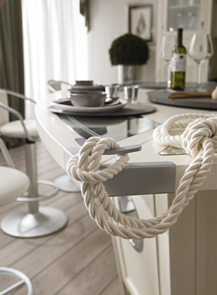 Аксессуары Кухня - остров в виде яхты