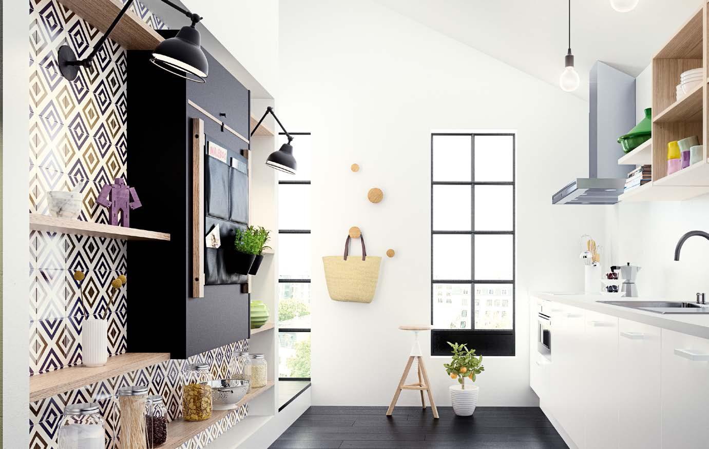 Складной стол для маленькой кухни