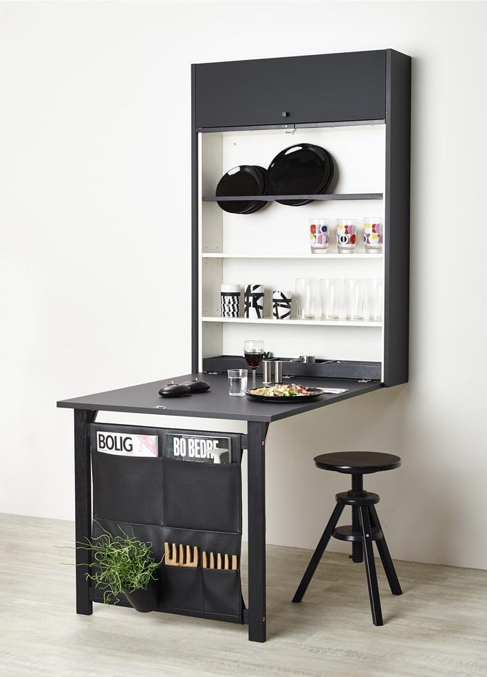 Разложенный стол для кухни