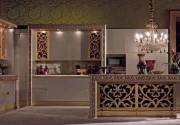 Декор кухни в стиле эклектика