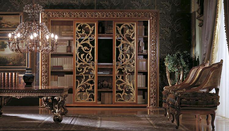 Библиотека декор кухни в стиле эклектика
