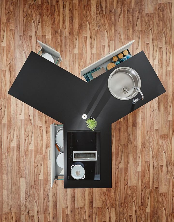 Мебельная выставка в Кельне 2017 – функциональная кухня остров