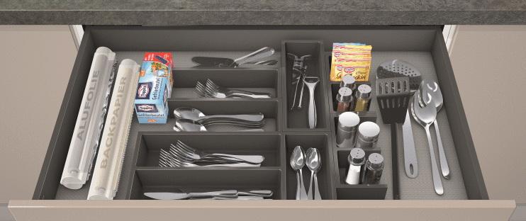 Кухня – органайзер для столовых приборов 0