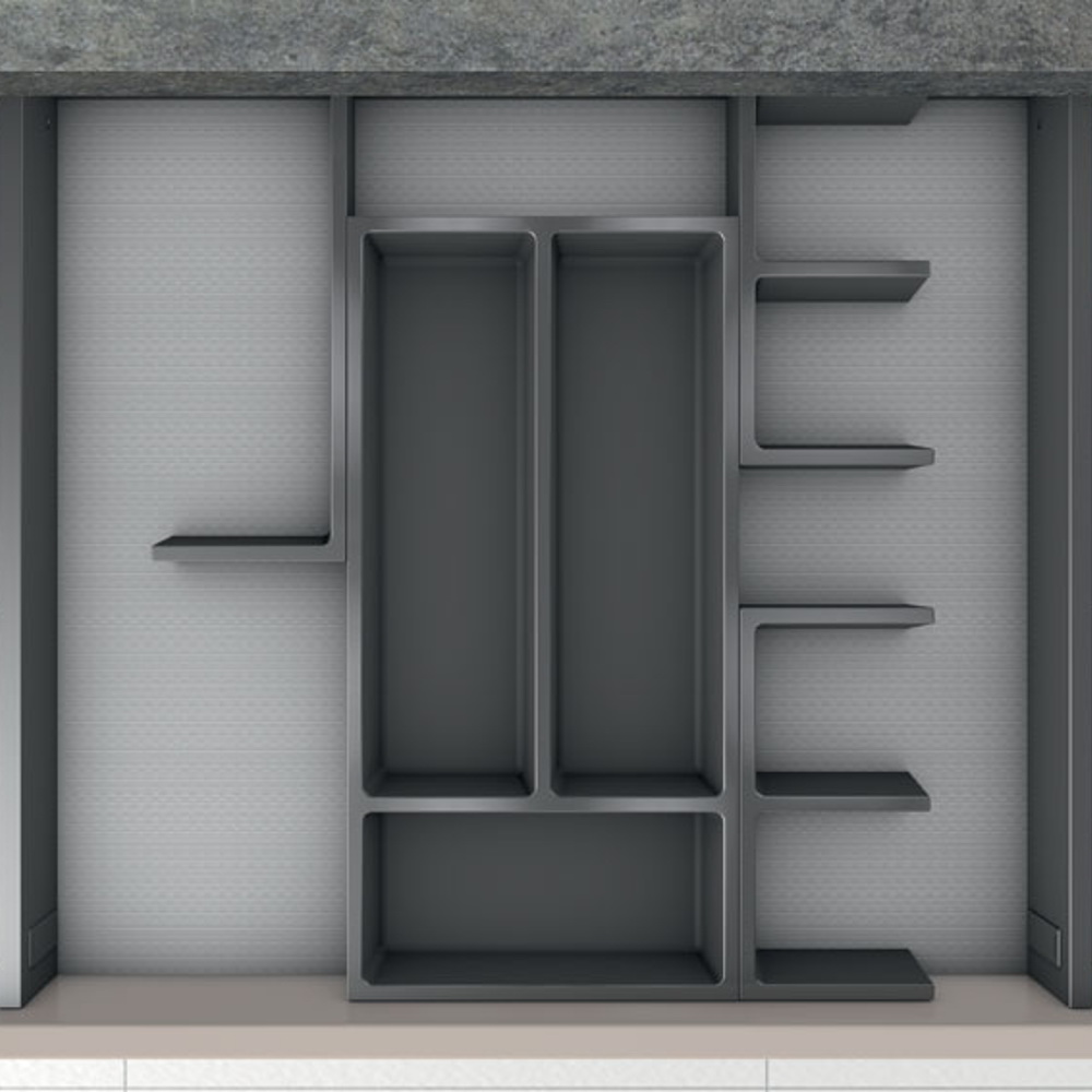 Кухня – органайзер для столовых приборов 8