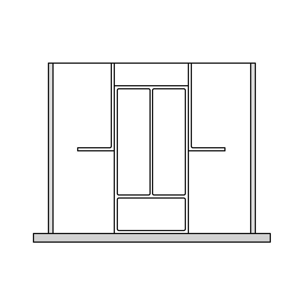 Кухня – органайзер для столовых приборов 5