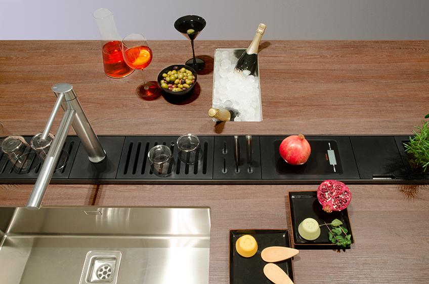 органайзеры хранение на кухне мойка
