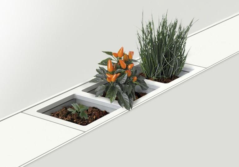 органайзеры хранение на кухне цветы