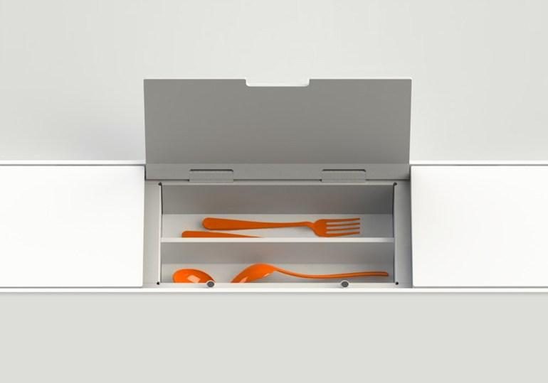 органайзеры хранение на кухне ложки