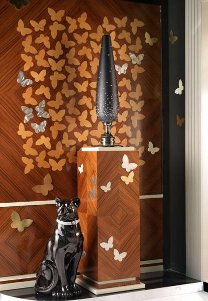 Инкрустированная бабочка Кухня арт-деко