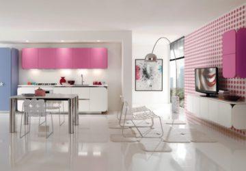 Кухня в стиле Хай-тек от Euromobil