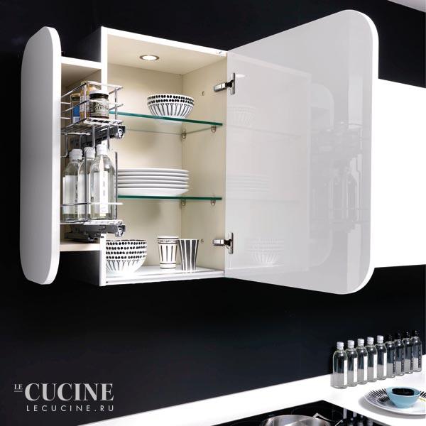 Верх кухня в стиле Хай-тек от Euromobil