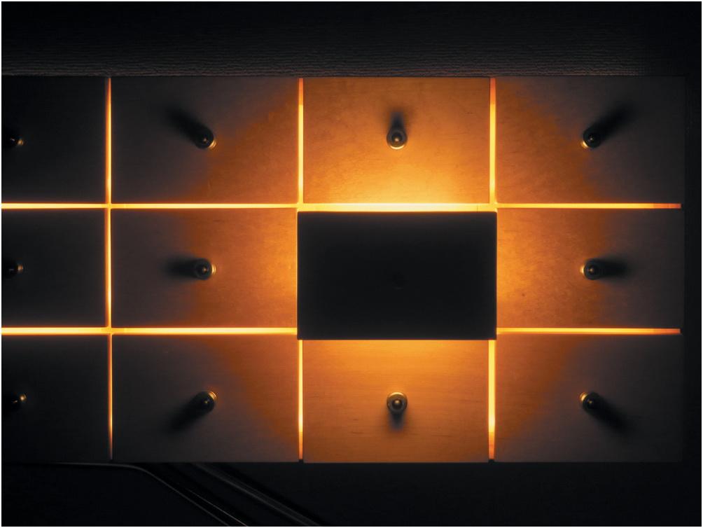 Подсветка выдвижных ящиков кухни акцент