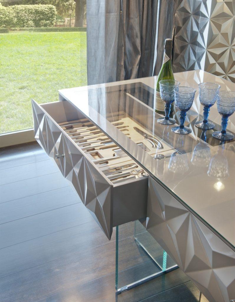 3D фасады для кухни ящик