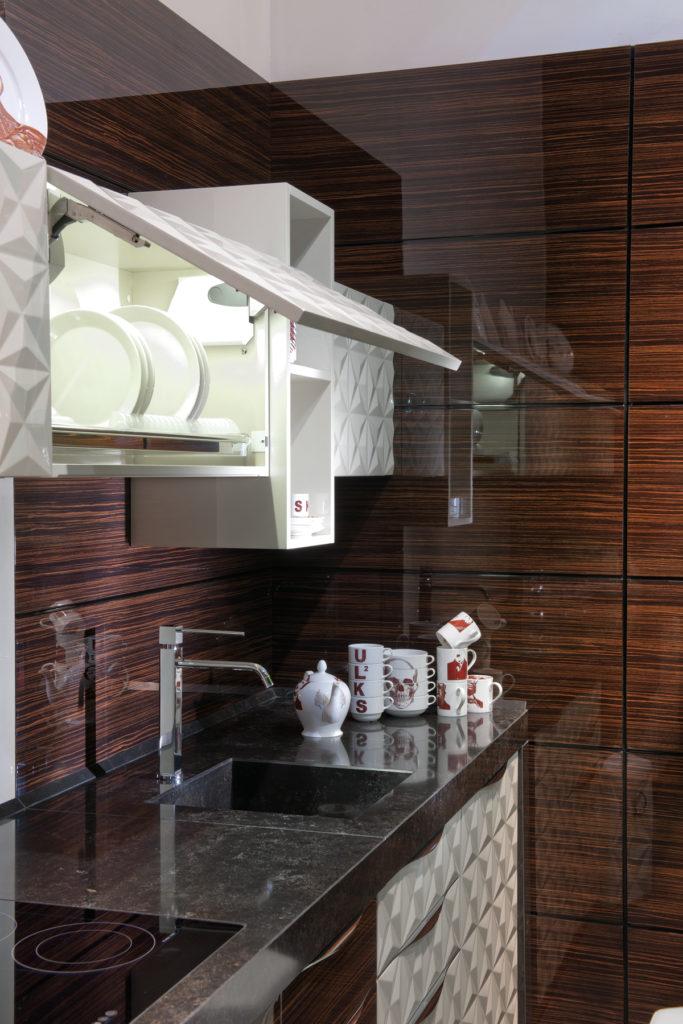 3D фасады для кухни сушка